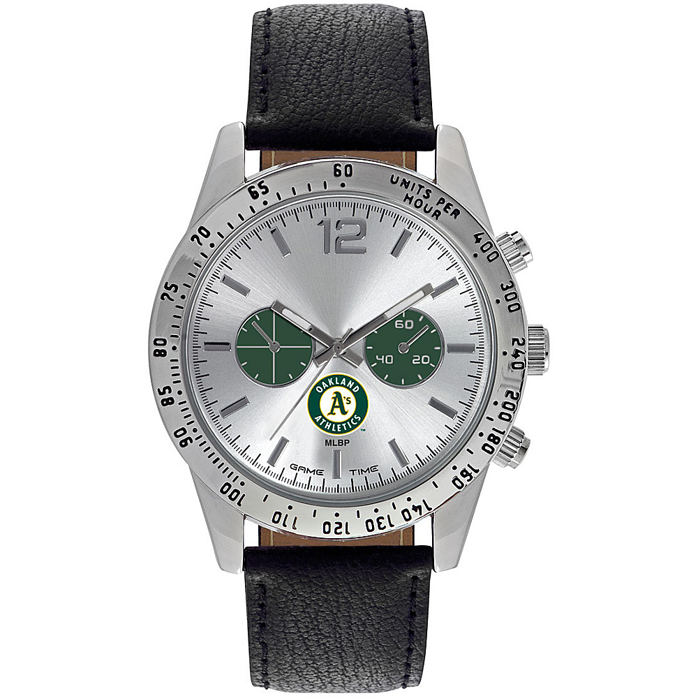 Game Time Mens Letterman-MLB Watch Oakland Athletics - Game Time Watches - Fashion Accessories, Watches