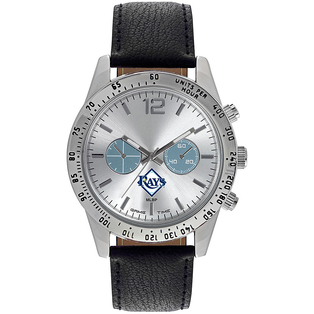 Game Time Mens Letterman-MLB Watch Tampa Bay Rays - Game Time Watches - Fashion Accessories, Watches