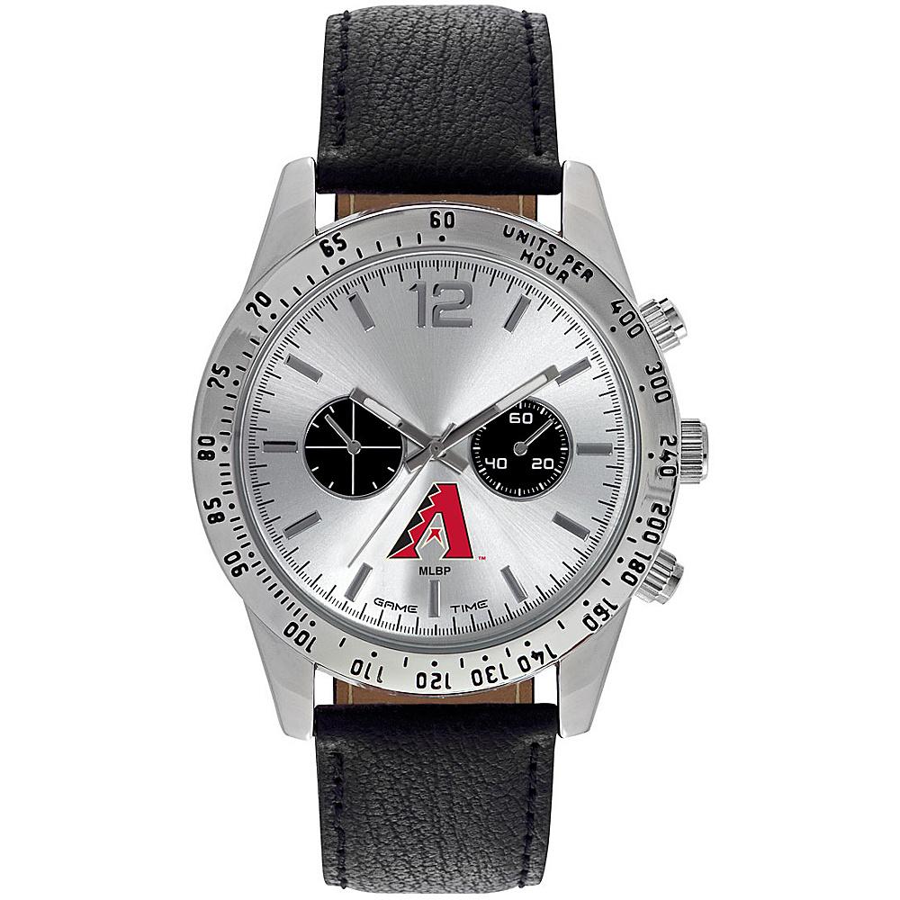 Game Time Mens Letterman-MLB Watch Arizona Diamondbacks - Game Time Watches - Fashion Accessories, Watches