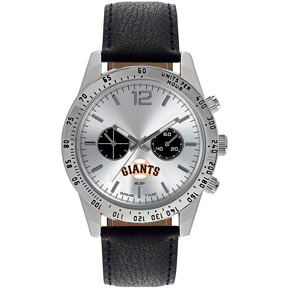 Game Time Mens Letterman-MLB Watch San Francisco Giants - Game Time Watches - Fashion Accessories, Watches