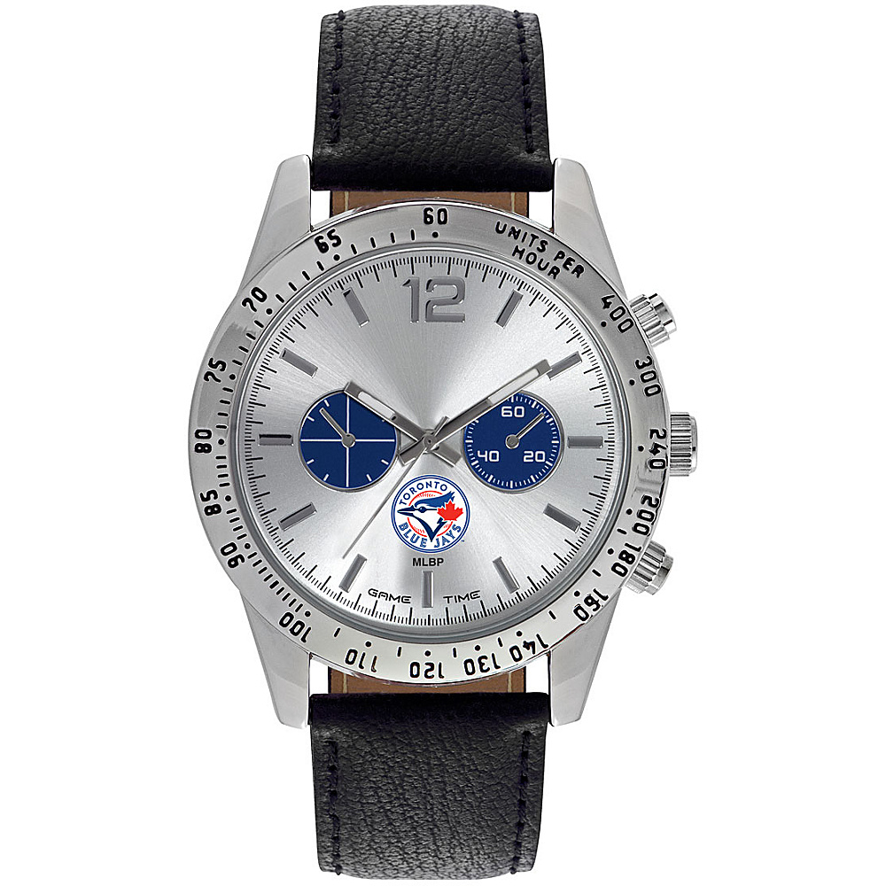 Game Time Mens Letterman-MLB Watch Toronto Blue Jays - Game Time Watches