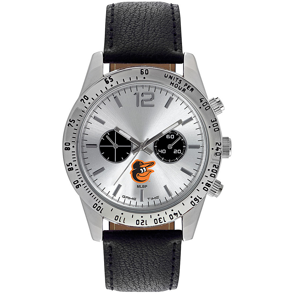 Game Time Mens Letterman-MLB Watch Baltimore Orioles Bird Logo - Game Time Watches - Fashion Accessories, Watches