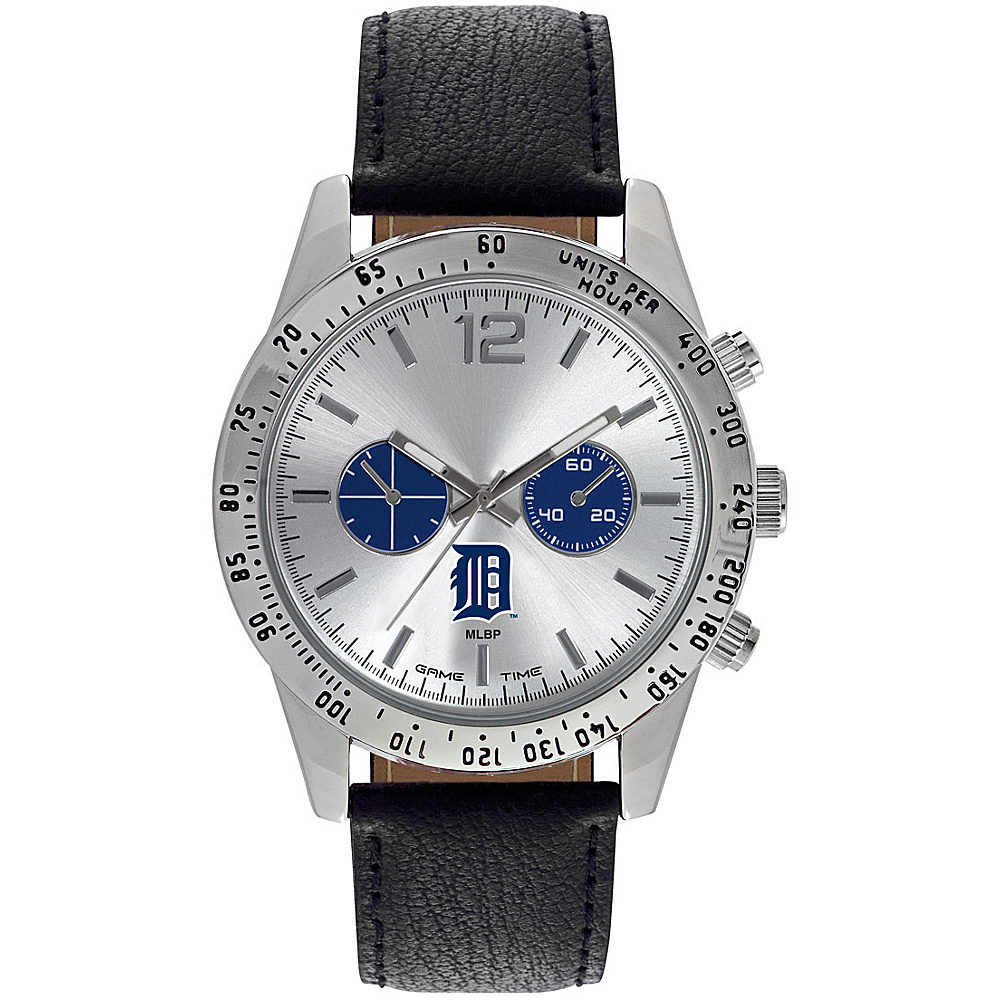 Game Time Mens Letterman-MLB Watch Detroit Tigers - Game Time Watches - Fashion Accessories, Watches