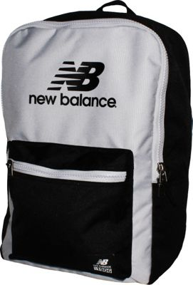 New Balance Booker Backpack Black/Silver Mink - New Balance Everyday Backpacks