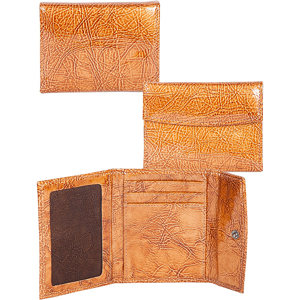Scully Leather Card Case Brown Scully Women s Wallets