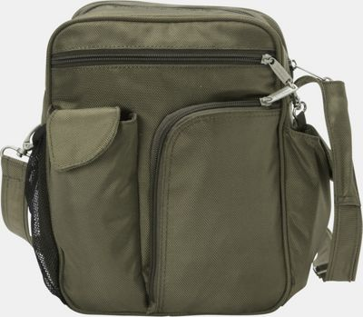 BeSafe by DayMakers RFID Large Security Guide Shoulder Bag LX Sage - BeSafe by DayMakers Fabric Handbags