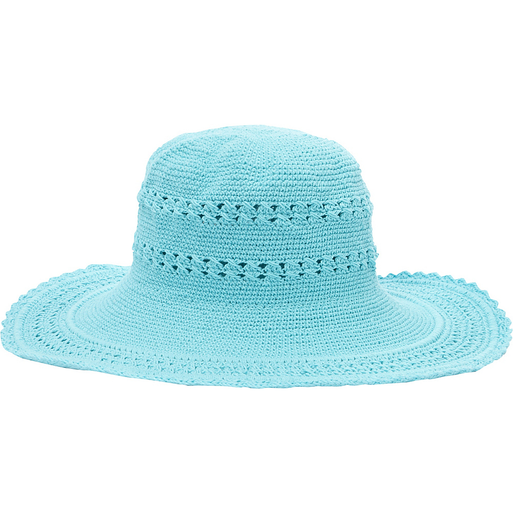 TLC you Comfort Style Sun Hat Aqua TLC you Hats Gloves Scarves