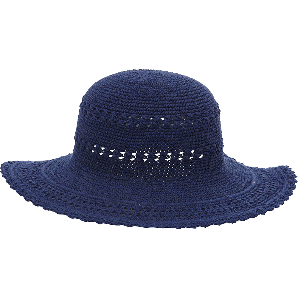 TLC you Comfort Style Sun Hat Navy TLC you Hats Gloves Scarves