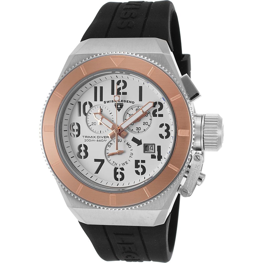Watches Swiss Legend Tri Mix : Swiss legend watches trimix diver chronograph ebay