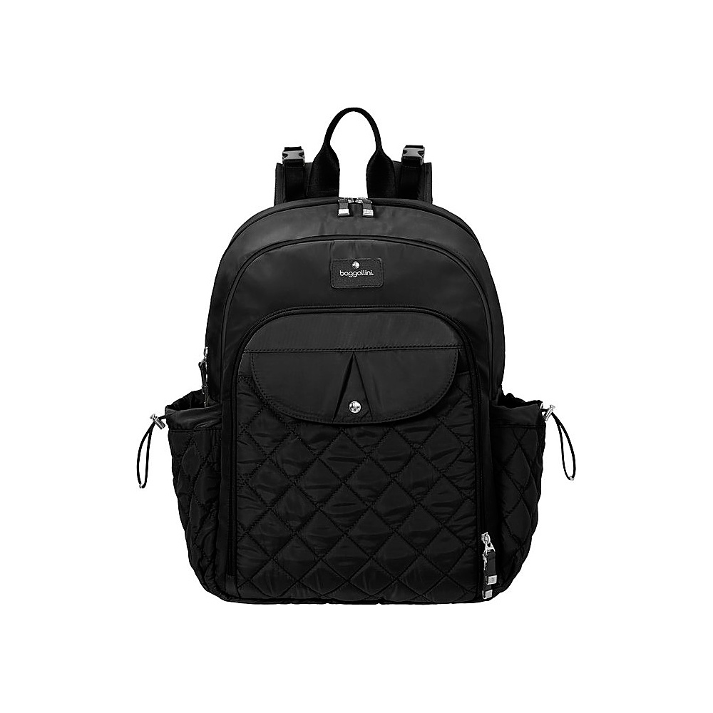 baggallini Ready To Run Baby Backpack Black - baggallini Diaper Bags & Accessories - Handbags, Diaper Bags & Accessories