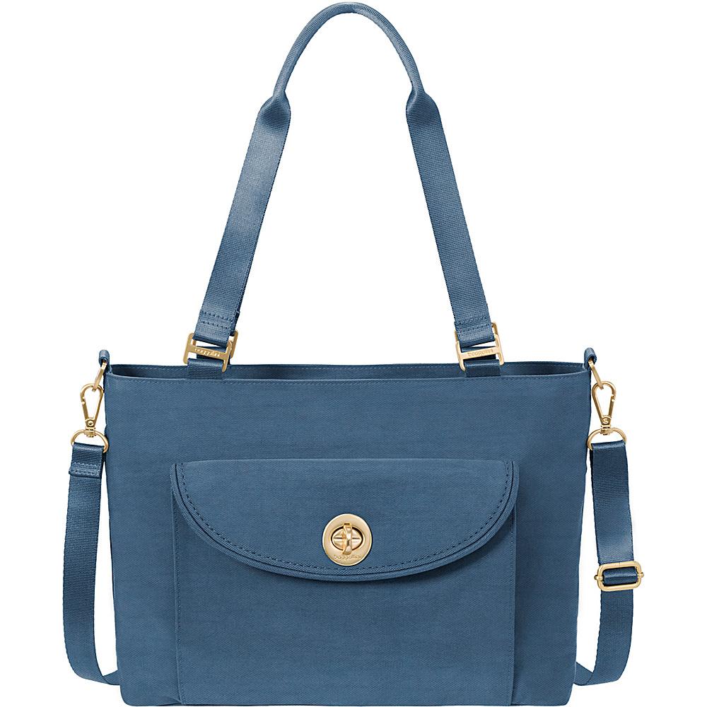 baggallini La Paz Tote Slate Blue - baggallini Fabric Handbags - Handbags, Fabric Handbags