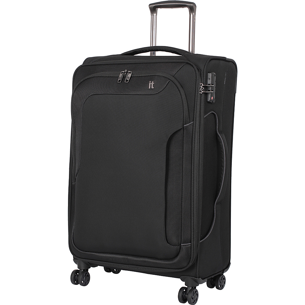 it luggage Amsterdam III 8 Wheel Spinner 27.6 inch Black it luggage Softside Checked