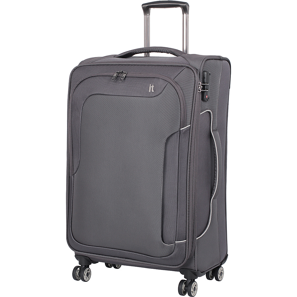it luggage Amsterdam III 8 Wheel Spinner 27.6 inch Magnet it luggage Softside Checked