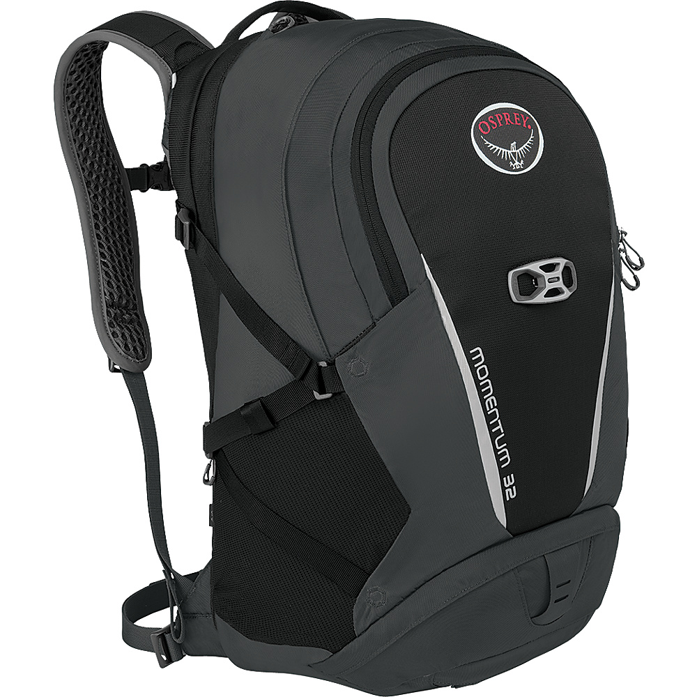 Osprey Momentum 32 Backpack Black - Osprey Business & Laptop Backpacks - Backpacks, Business & Laptop Backpacks