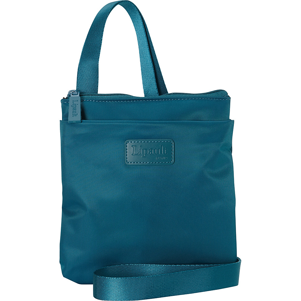 Lipault Paris Medium Crossbody Bag Discontinued Colors Aqua Lipault Paris Fabric Handbags