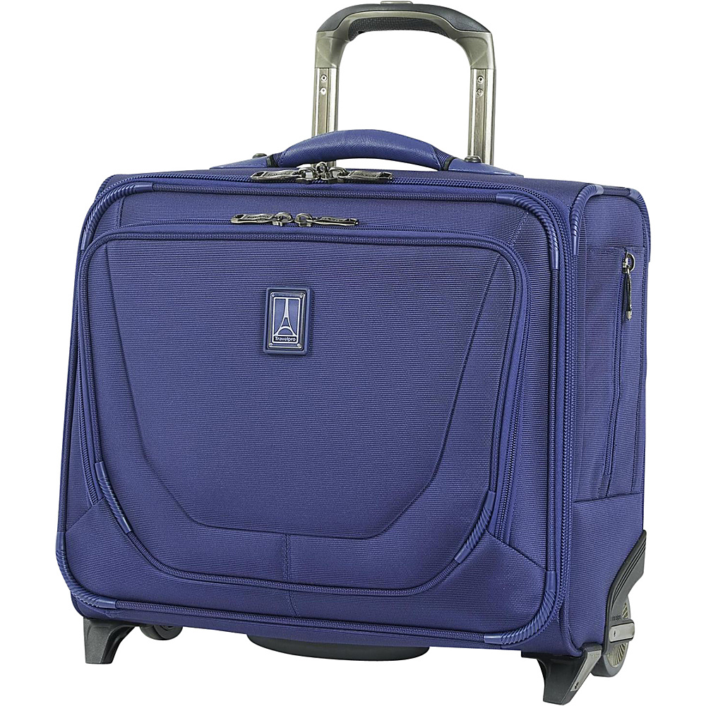 Travelpro Crew 11 Rolling Tote Purple Travelpro Wheeled Business Cases