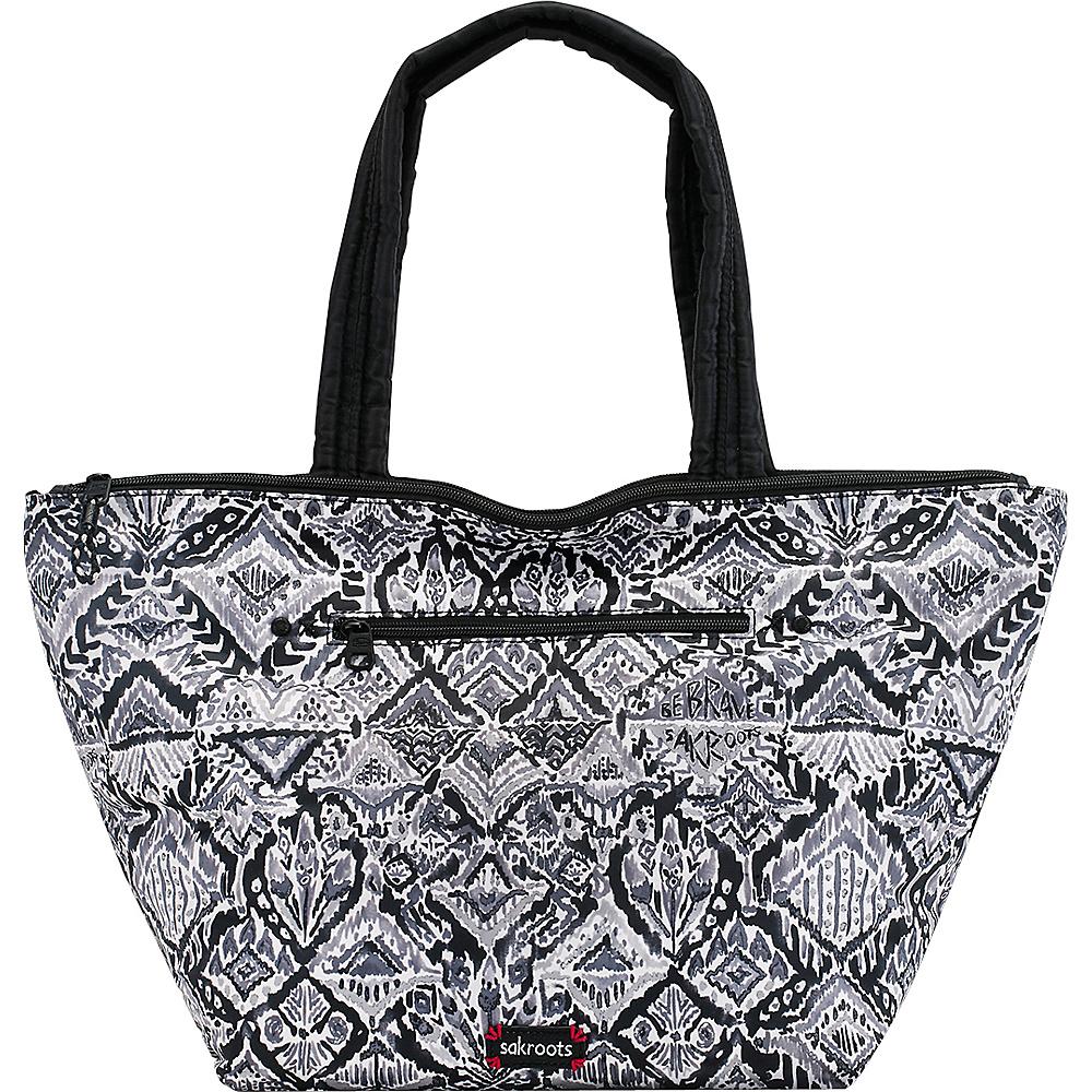 Sakroots Kota Reversible City Tote Jet Brave Beauti - Sakroots Fabric Handbags