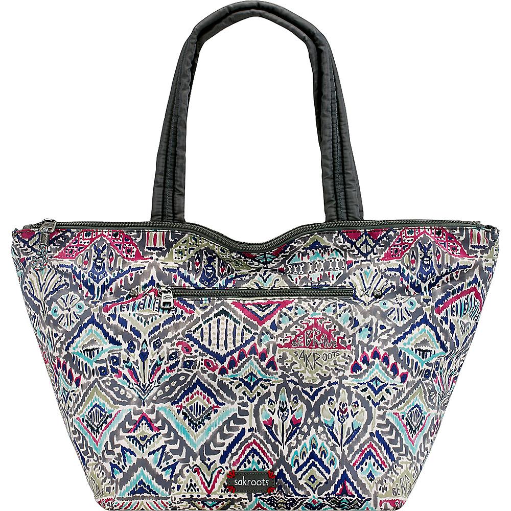 Sakroots Kota Reversible City Tote Slate Brave Beauti - Sakroots Fabric Handbags