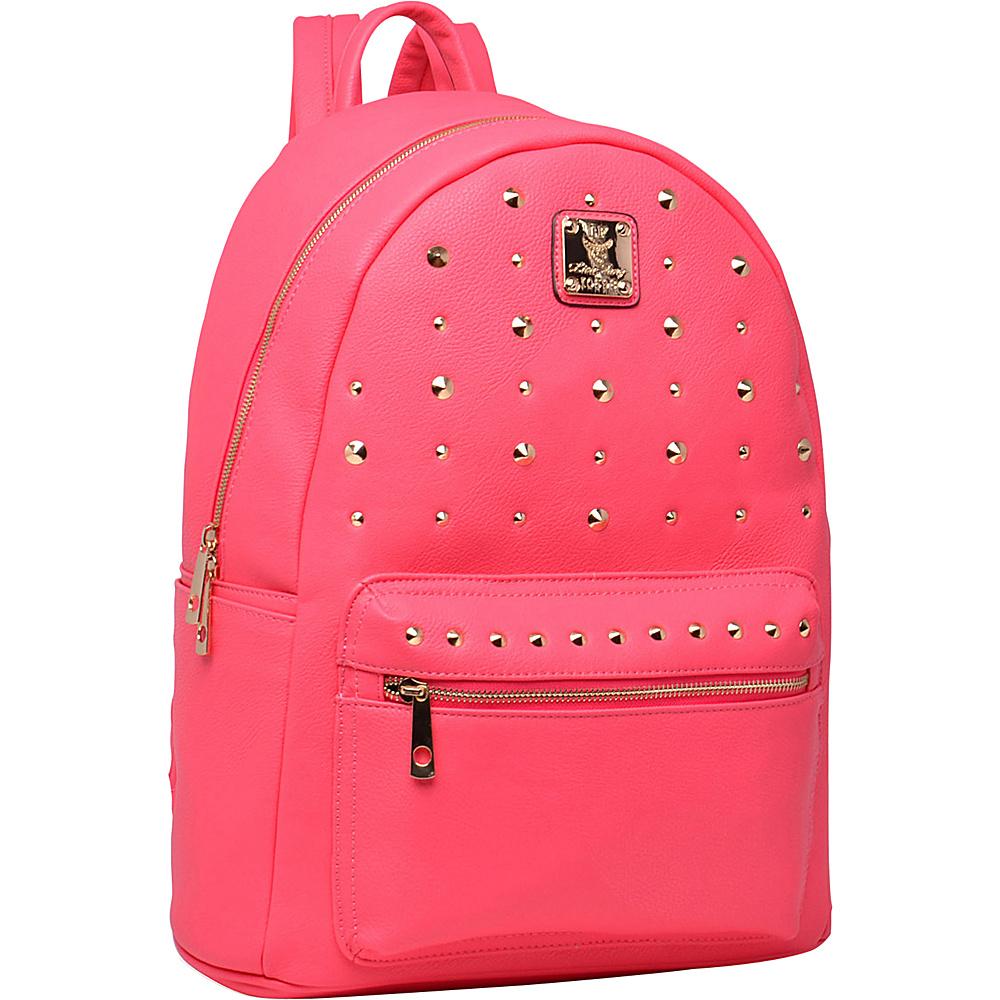 MKF Collection Valo Fashion Backpack Fuchsia - MKF Collection Everyday Backpacks - Backpacks, Everyday Backpacks