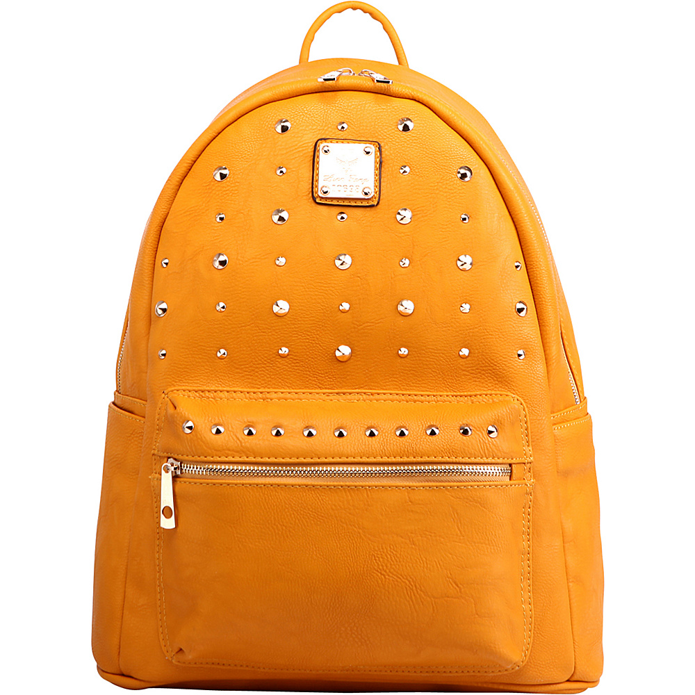 MKF Collection Valo Fashion Backpack Yellow - MKF Collection Everyday Backpacks - Backpacks, Everyday Backpacks