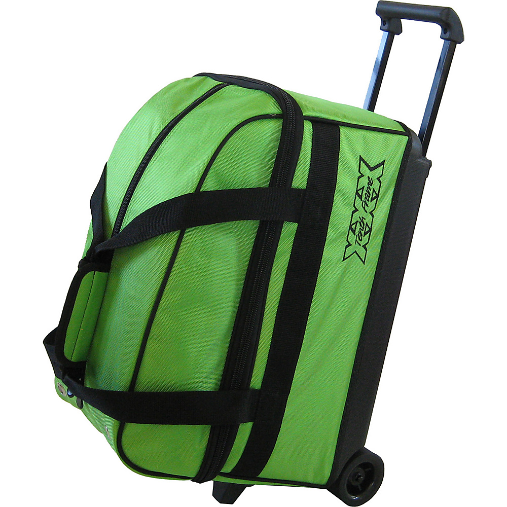 Tenth Frame Basic Double Roller Bowling Ball Bag Lime - Tenth Frame Bowling Bags