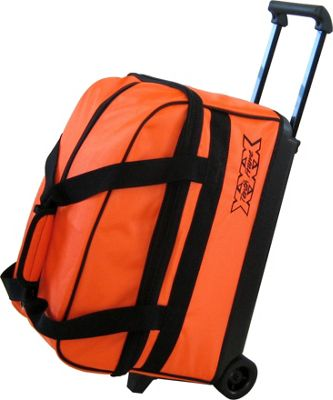 Tenth Frame Tenth Frame Basic Double Roller Bowling Ball Bag Orange - Tenth Frame Bowling Bags