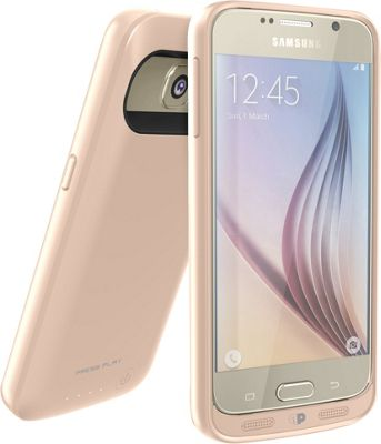 Press Play Products SURGE Battery Case for Samsung Galaxy S6 Gold - Press Play Products Electronic Cases