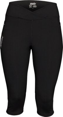 Swix Womens Daimon Capri Tight M - Black - Swix Women's Apparel 10471061
