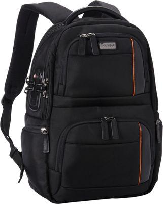 Numinous London SMART City Backpack 1001 Black - Numinous London Laptop Backpacks