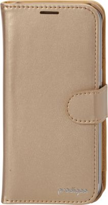 Prodigee Wallegee Case for Samsung S7 Edge Gold - Prodigee Electronic Cases