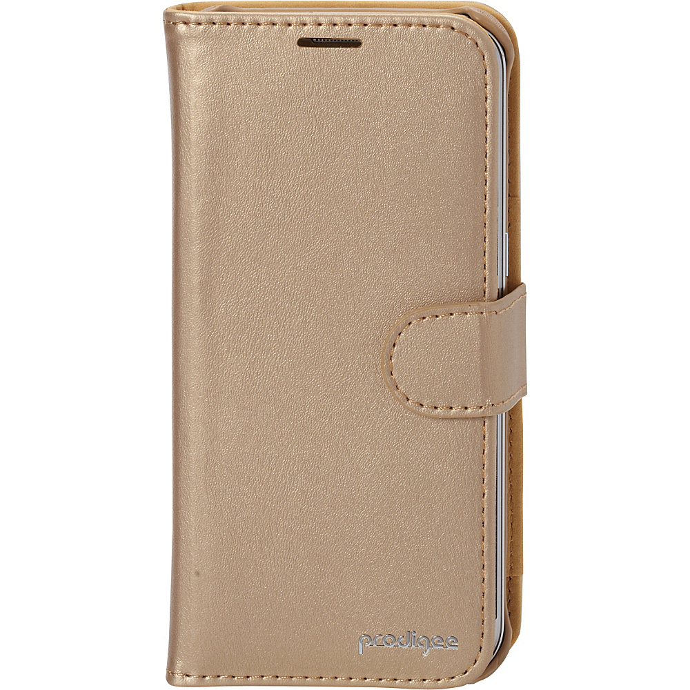 Prodigee Wallegee Case for Samsung S7 Edge Gold Prodigee Electronic Cases