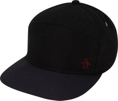 Original Penguin Melton Wool Baseball Cap Black - Original Penguin Hats/Gloves/Scarves 10472191
