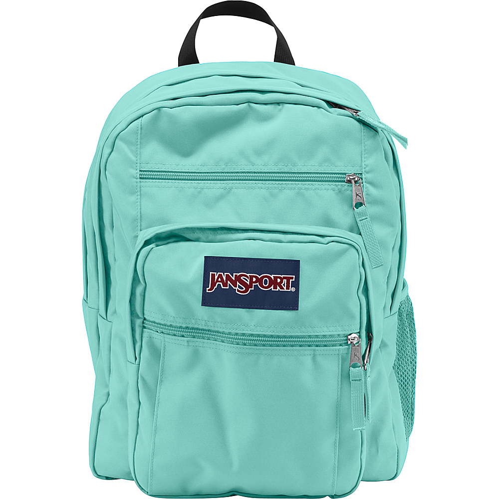 JanSport Big Student Backpack- Discontinued Colors Aqua Dash - JanSport Everyday Backpacks