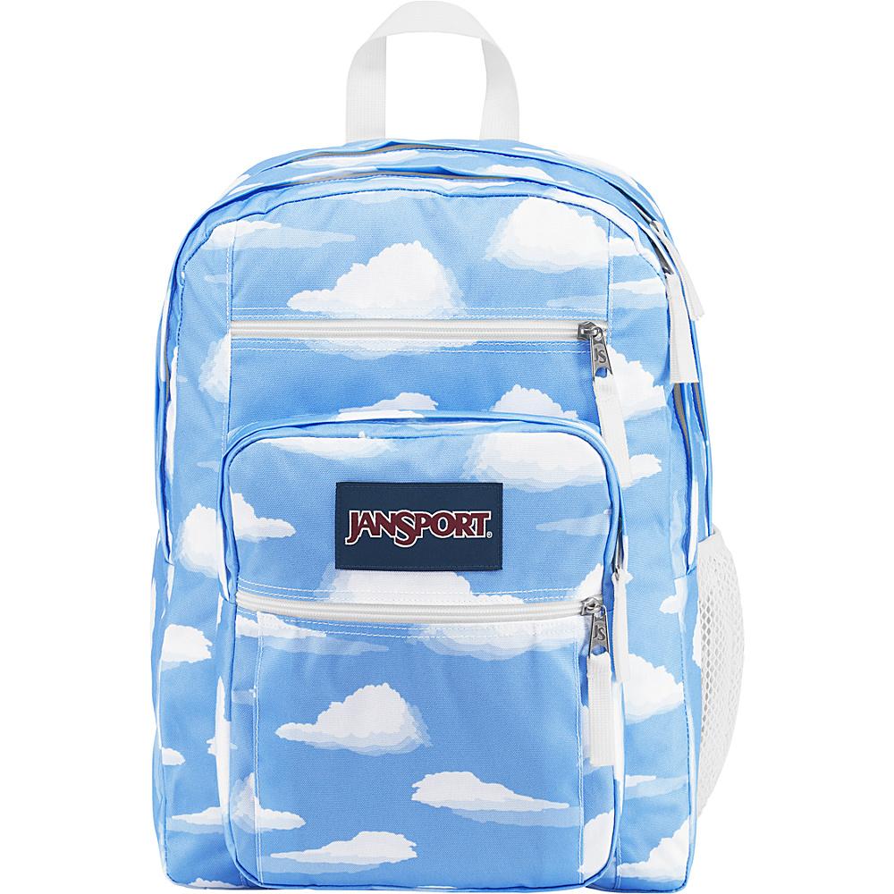 JanSport Big Student Backpack- Sale Colors Partly Cloudy - JanSport Everyday Backpacks