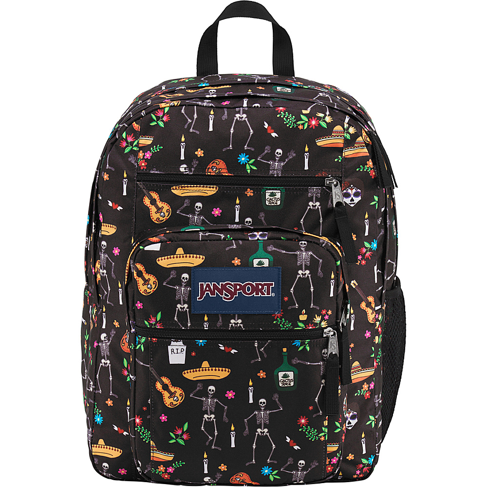 JanSport Big Student Backpack- Sale Colors Day of the Dead - JanSport Everyday Backpacks