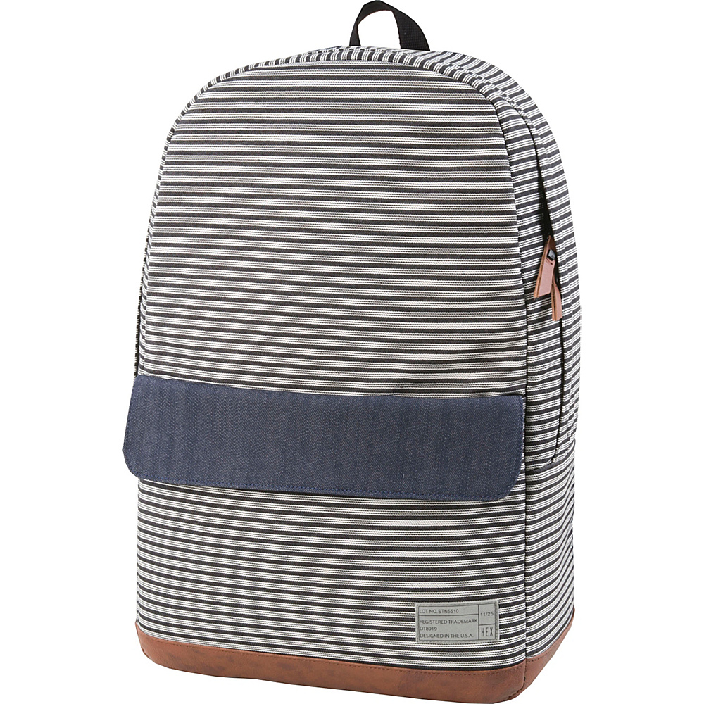 HEX Echo Backpack Stinson Stripe Denim HEX Business Laptop Backpacks
