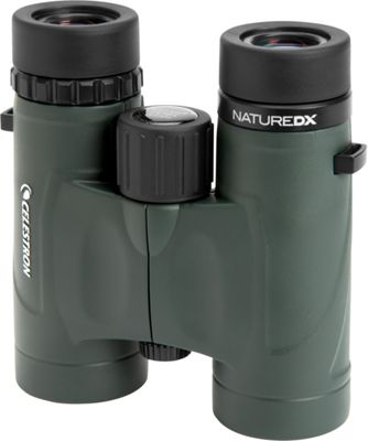 Celestron Nature DX 8x32 Binocular Green - Celestron Binoculars, Telescopes & Optics