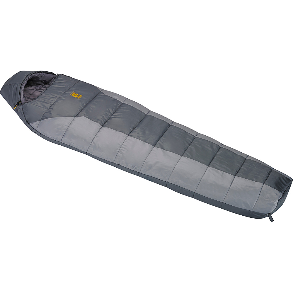 Slumberjack Boundary 40 Degree Long Lh Two Tone Gray Slumberjack Outdoor Accessories