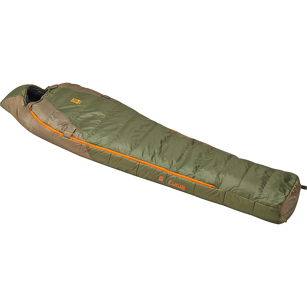Slumberjack Lapland 0 Degree Reg Hybrid Dual Zipper Two Tone Green Slumberjack Outdoor Accessories