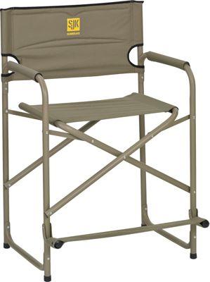 Slumberjack Big Tall Steel Chair Tan - Slumberjack Outdoor Accessories