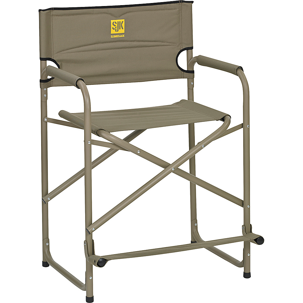 Slumberjack Big Tall Steel Chair Tan Slumberjack Outdoor Accessories