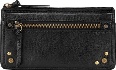The Sak Sanibel Flap Wallet Black Onyx - The Sak Women's Wallets
