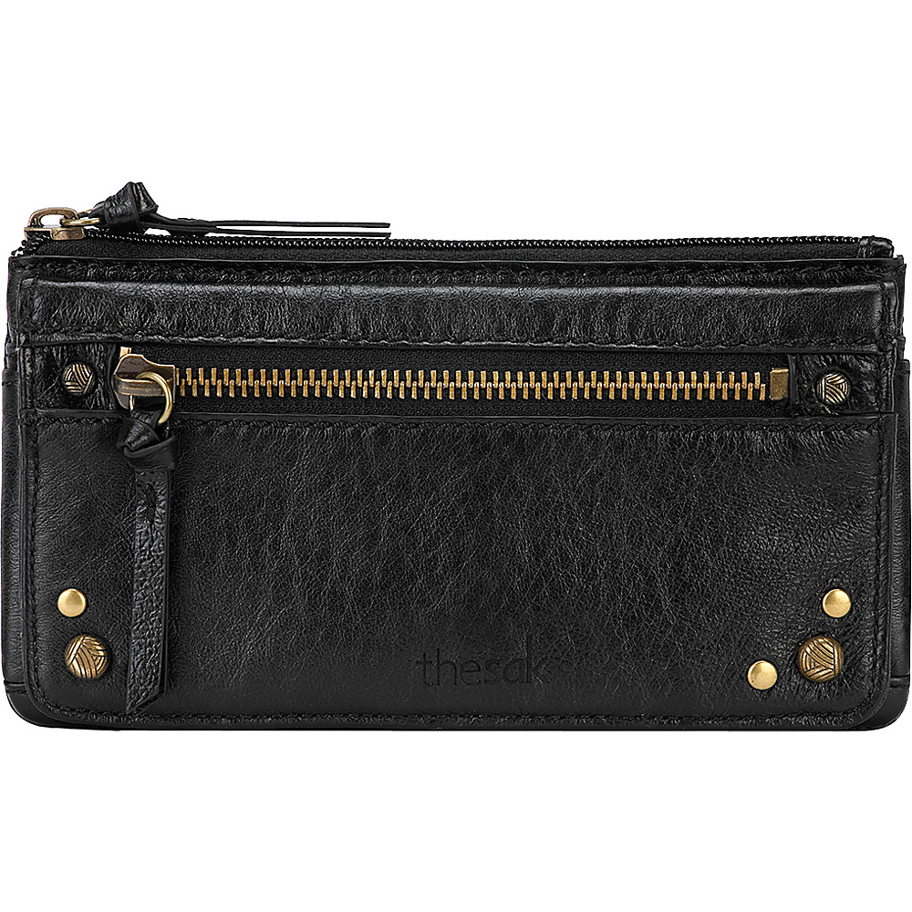 The Sak Sanibel Flap Wallet Black Onyx The Sak Women s Wallets