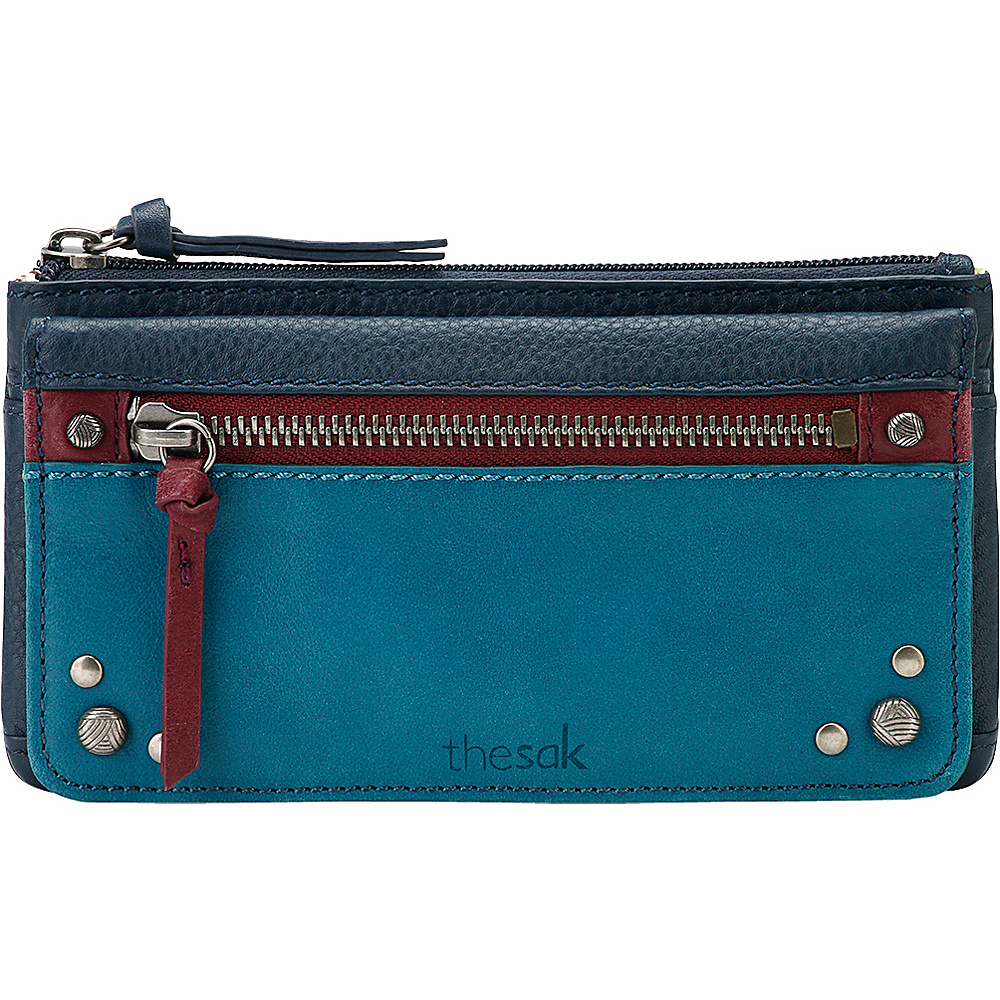 The Sak Sanibel Flap Wallet Multi Patch The Sak Women s Wallets