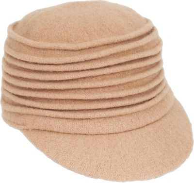 Adora Hats Wool Accordion Cadet Hat Pecan - Adora Hats Hats/Gloves/Scarves