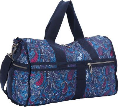 LeSportsac LeSportsac Made with Liberty Art Fabrics CR Large Weekender Eastern Voyage Blue - LeSportsac Travel Duffels