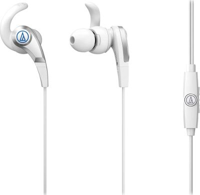 Audio Technica ATH-CKX5ISWH SonicFuel In-Ear Headphones White - Audio Technica Headphones & Speakers