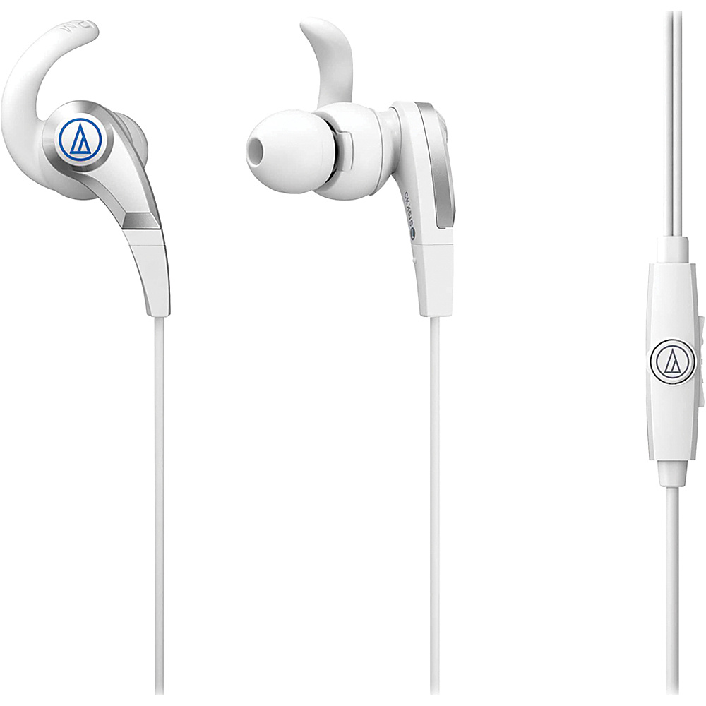 Audio Technica ATH CKX5ISWH SonicFuel In Ear Headphones White Audio Technica Headphones Speakers