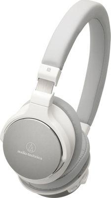 Audio Technica Bluetooth Wireless On-Ear High-Resolution Audio Headphones White - Audio Technica Headphones & Speakers