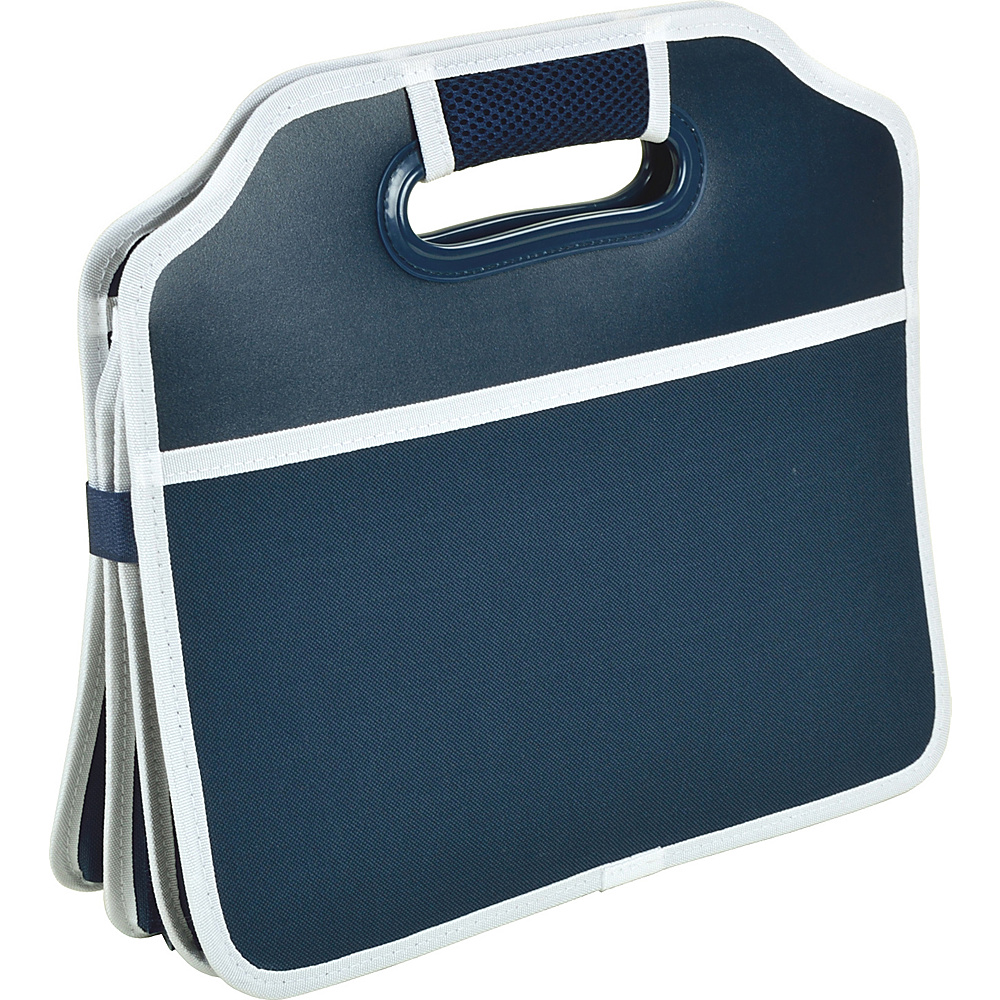 Picnic at Ascot Original Folding Trunk Organizer, designed by Picnic at Ascot Navy - Picnic at Ascot Trunk and Transport Organization - Travel Accessories, Trunk and Transport Organization
